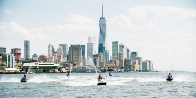 Jet ski runt Manhattan – ja, tack! Wikicommons