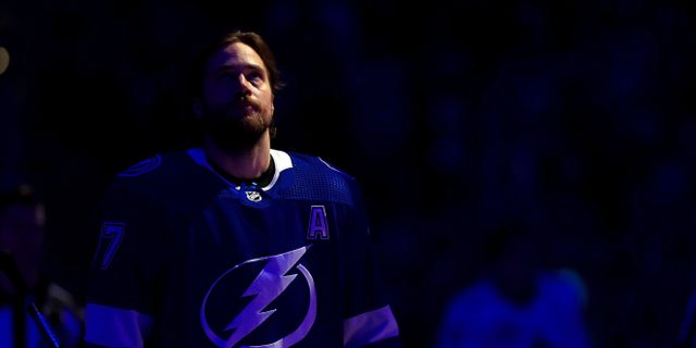 Tampas Victor Hedman. Arkiv. Mike Ehrmann / GETTY IMAGES NORTH AMERICA
