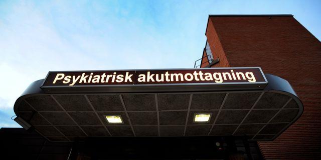 Psykiatrisk akutmottagning. Arkivbild. Tomas Oneborg / SvD / TT / TT NYHETSBYRÅN
