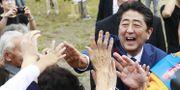 Arkivbild: Japans premiärminister Shinzo Abe.  Hironori Asakawa / TT / NTB Scanpix