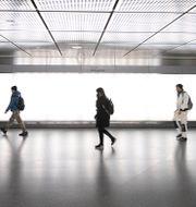 Bild från Stockholms tunnelbana. ALI LORESTANI / TT / TT NYHETSBYRÅN