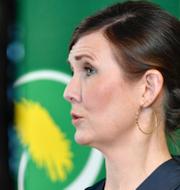 Rebecka Le Moine, Annika Hirvonen, Elin Söderberg och Märta Stenevi TT/Miljöpartiet