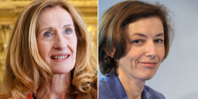 Nicole Belloubet har utsetts som justitieminister och Florence Parly som försvarsminister.
