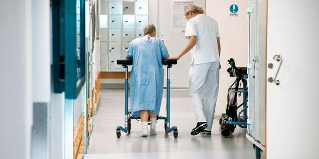 """Kommunerna och regionerna uppges ha """"ofantligt stora"""" pensionsskulder till sina anställda. Claudio Bresciani/TT / TT NYHETSBYRÅN"""