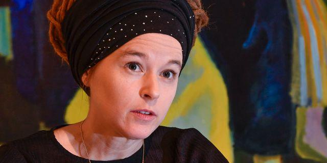 Amanda Lind (MP). Jonas Ekströmer/TT / TT NYHETSBYRÅN