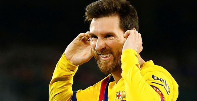Lionel Messi. MARCELO DEL POZO / BILDBYRÅN