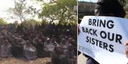 Skolflickor kidnappade av Boko Haram.  TT
