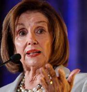 Nancy Pelosi, talman för den amerikanska kongressen. Alex Brandon / TT NYHETSBYRÅN