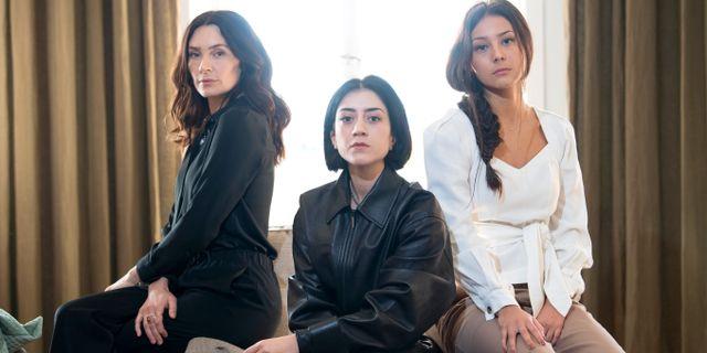 Aliette Opheim, Gizem Erdogan och Nora Rios spelar huvudrollerna. Henrik Montgomery/TT / TT NYHETSBYRÅN