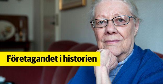 Ulla Murman vågade trotsa en stelbent lagstiftning och lade grunden till en hel bransch.  Bertil Ericson / TT / TT NYHETSBYRÅN