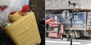 Rakhmat Akilovs bomb / lastbilen på Drottninggatan i Stockholm. Polisen / TT