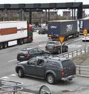 Bilar på väg ut på Öresundsbron.  Johan Nilsson/TT / TT NYHETSBYRÅN
