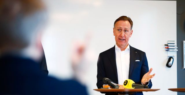 Svenskt Näringslivs vd Jan-Olof Jacke. Thomas Johansson/TT / TT NYHETSBYRÅN