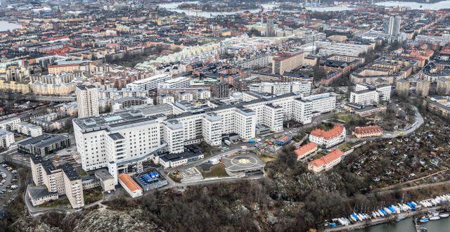 Södersjukhuset från luften. Arkivbild. Anders Wiklund/TT / TT NYHETSBYRÅN