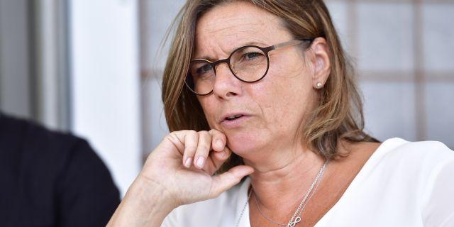 Isabella Lövin. Erik Simander/TT / TT NYHETSBYRÅN