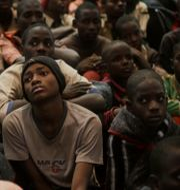 Skolpojkar som befriats efter att ha rövats bort av Boko Haram, 2020. Sunday Alamba / TT NYHETSBYRÅN
