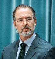 Tidigare finansministern Anders Borg är styrelseordförande i Checkin. Claudio Bresciani / TT / TT NYHETSBYRÅN