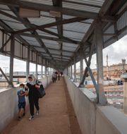 Michelle Bachelet/Kontrollstation mellan Ramallah och Jerusalem. TT