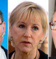 Håkan Buskhe, Margot Wallström, Leif Johansson