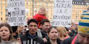 Manifestation för ensamkommande unga i Stockholm, 2018. Anna Karolina Eriksson/TT / TT NYHETSBYRÅN