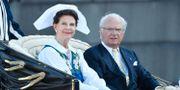 Arkivbild: Drottning Silvia och kung Carl Gustaf.  Karin Törnblom/TT / TT NYHETSBYRÅN