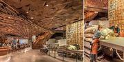 Upp till 1 200 gäster får plats på världens största Starbucks. Starbucks