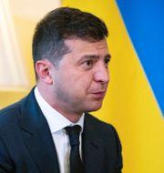 Ukrainas president Volodymyr Zelenskyj Aaron Chown / TT NYHETSBYRÅN