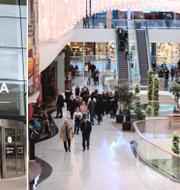 Mall of Scandinavia i Solna. TT