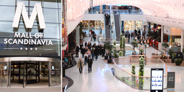 Mall of Scandinavia i Solna. TT