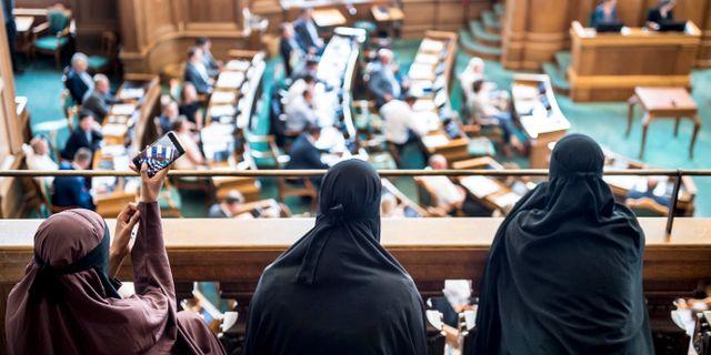 Franskt burkaforbud vantas ga igenom