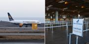Bilder från Keflaviks flygplats – Islands enda av sitt slag. TT