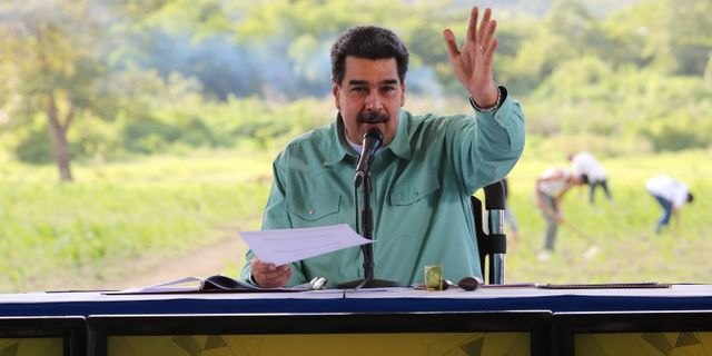 Nicolás Maduro. HANDOUT / TT NYHETSBYRÅN