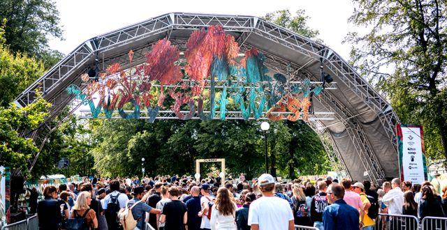 En bild från festivalen Way out west 2018. ADAM IHSE / TT / TT NYHETSBYRÅN