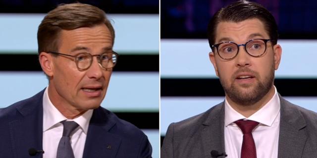 Kristersson/Åkesson. SVT