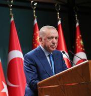 Recep Tayyip Erdogan. TT NYHETSBYRÅN