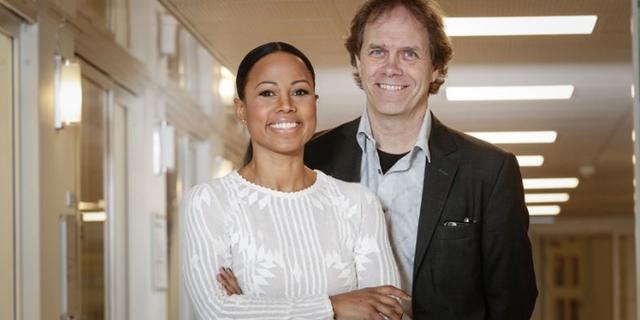 Alice Bah Kuhnke och Pär Holmgren. Miljöpartiet