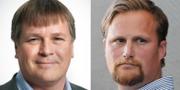 Niclas Nilsson (SD) och Carl Johan Sonesson (M). SD Skåne/Wikipedia