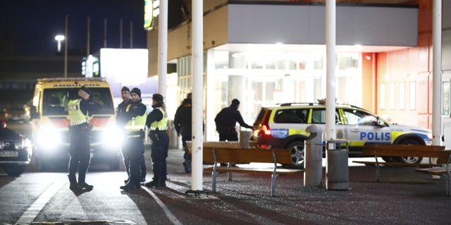 Bild från det Coop där flickan hittades.  Thomas Johansson/TT / TT NYHETSBYRÅN