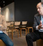 Vd och ordförande: Oscar Engelbert och Peter Norman. Arkivbild. Malin Hoelstad/SvD/TT / TT NYHETSBYRÅN