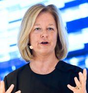 Telias nya vd Allison Kirkby. Janerik Henriksson/TT / TT NYHETSBYRÅN