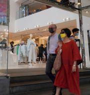 H&M-butik i Hongkong. Kin Cheung / TT NYHETSBYRÅN
