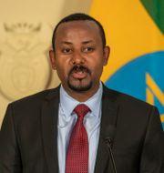 Abiy Ahmed Themba Hadebe / TT NYHETSBYRÅN
