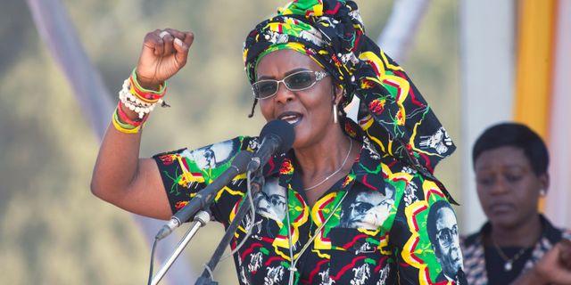 Grace Mugabe. Tsvangirayi Mukwazhi / TT / NTB Scanpix