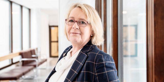 Irene Svenonius (M). Emma-Sofia Olsson/SvD/TT / TT NYHETSBYRÅN