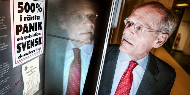 Riksbankschefen Stefan Ingves.  Tomas Oneborg/SvD/TT / TT NYHETSBYRÅN