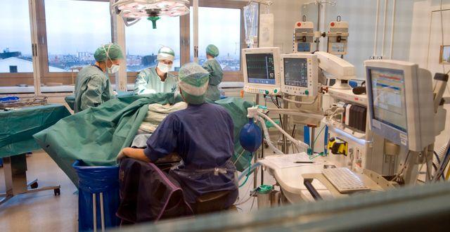 Operationsavdelningen på Södersjukhuset.  Bertil Ericson / TT / TT NYHETSBYRÅN