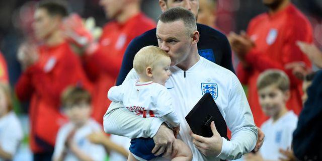 Wayne Rooney.  TOBY MELVILLE / BILDBYR N