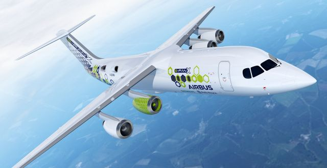 Airbus E-Fan X-plan.  Airbus.
