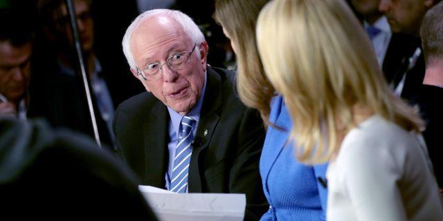 Bernie Sanders SCOTT OLSON / TT NYHETSBYRÅN