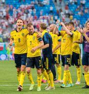 Bild efter 3–2-segern.  JOEL MARKLUND / BILDBYRÅN